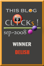 Click! Sept 2008 Delish Award